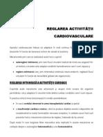 Draft Curs - Reglarea Aparatului Cardiovascular