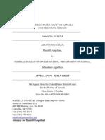 9th Circuit FOIA Reply FBI Records