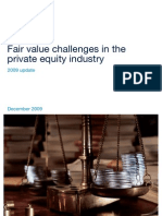 FV Challenges in the PE Industry-PwX-2009 Update