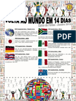"""Curso de Férias 2012 """" A volta ao mundo em 14 dias"""""""