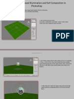 3ds Max Image Based Illumination and Dof Composition in Photoshop