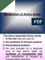 9 Metabolism of AAs