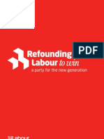 Re Founding Labour to Win