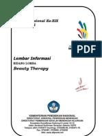 Lembar Informasi -Beauty Therapy 2011-Ok