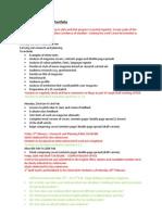 AS Media Foundation portfolio G321 Schedule 2012