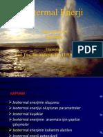 JEOTERMAL ENERJİ- MUSA DOĞAN