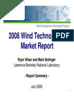 2008 Wind Technologies Ppt
