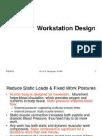 Workstation Design New