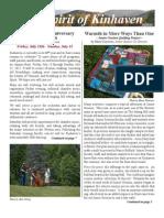 Kinhaven Fall Newsletter