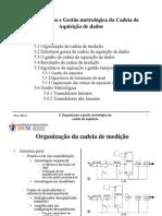 5Organização e Gestão metrológica da Cadeia de Aquisição