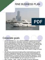 Joyce Marine Business Plan 20090326
