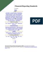 International Financial Reporting Standards