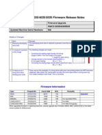 3035-4035-5035 Firmware Bulletin R22