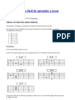 La manera más fácil de aprender a tocar guitarra II