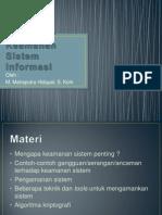PTI-Keamanan Sistem Informasi