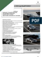Ficha C250 Coupé BlueEfficiency