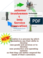 Customer Involvement Into Service Innovation