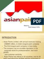 Asian Paint Ppt