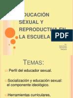 Educación sexual y reproductiva en la escuela!