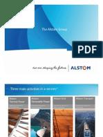 Alstom in India Corporate Presentation