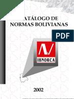 CatalogodeNormasBolivianas