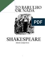 Shakespeare Muito Barulho Por Nada