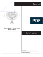 Gearless Wind Generator Owner's Manual