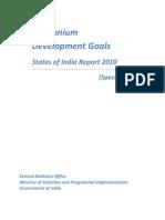 Millenium Development Goals-Status of India