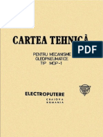 Cartea Tehnica MOP-1