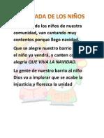 LA GALLADA DE LOS NIÑOS 2
