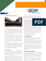 Le rapport d'activité « ODP »