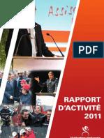 Le Rapport Annuel 2011