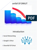 Downfall of ORKUT PPT