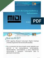 Presentacion MIDI