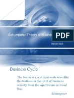 Schumpeter Theory of Business Cycle