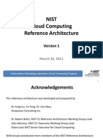 NIST CC Reference Architecture v1 March 30 2011