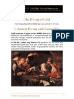 Complete History of Gold