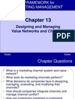 Designing and Managing Value Networks and Channels