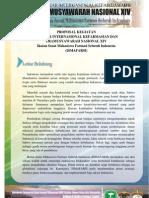 Proposal LK 3 dan PRAMUNAS XIV ISMAFARSI
