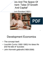 Economics and the Space of Development