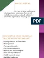 Role Av Aids in Clinical Teaching