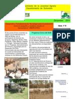 EL  BOLETIN  edición   N°  38  Diciembre  AÑO  2011