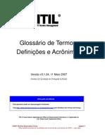 ITILV3 Glossary Brazilian Portuguese v3.1.24