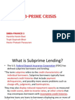 Sub-Prime Crisis Presentation