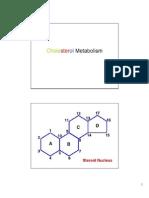 Lipid Metabolism-6 - Cholesterol Handout