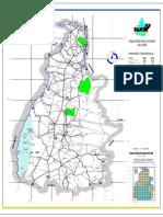 MAPA rodoviário do Tocantins 2011