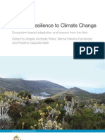 Building Resilience to Climate Change