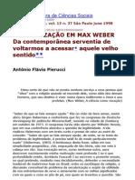 Secularização - Revista Brasileira de Ciencias Sociais
