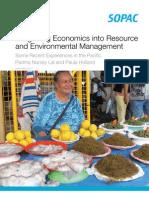 Integrating Economics Into Resource and Environmental Management