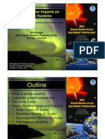 Space Weather Impacts on Aviation Systems